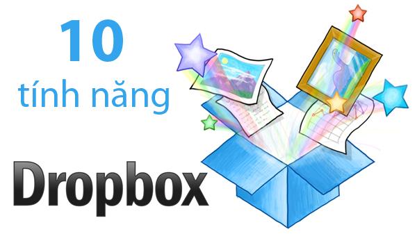 10 tính năng của Dropbox