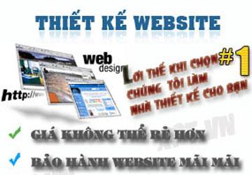 Thiết kế web, chớ thấy rẻ mà ham