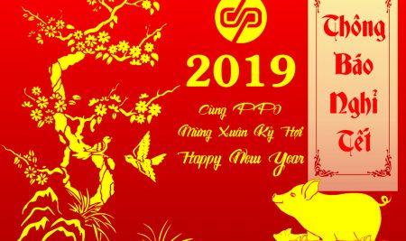 [PPO] Thông báo lịch nghỉ Tết 2019